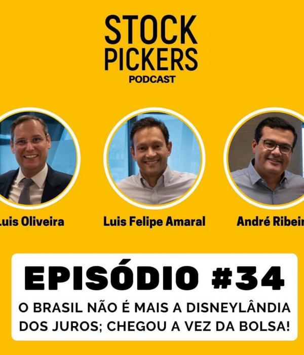 Luis Felipe Amaral no episódio #34 do Stock Pickers