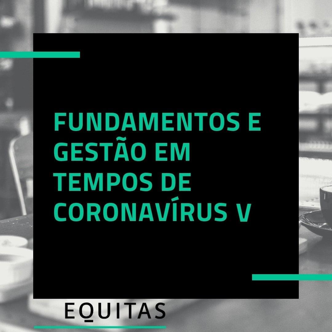 Fundamentos e gestão em tempo de coronavírus – vídeo IV