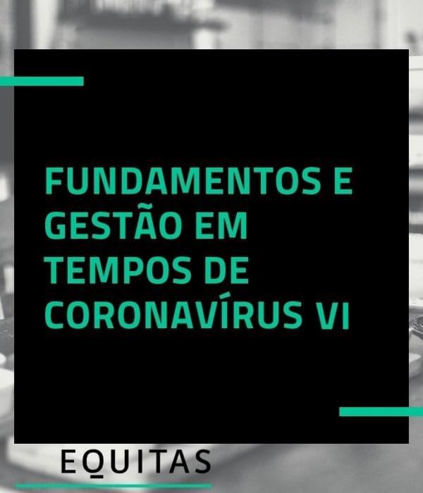 Fundamentos e gestão em tempo de coronavírus – vídeo VI