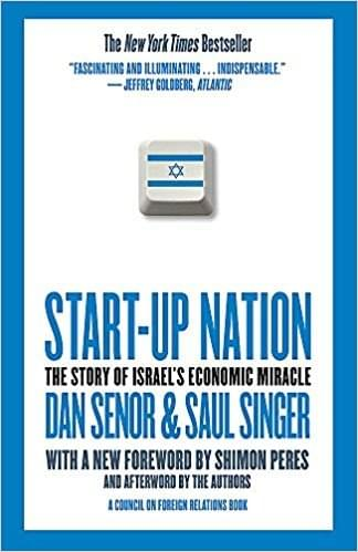 Start-up Nation – The Story of Israel's Economic Miracle de Dan Senor e Saul Singer