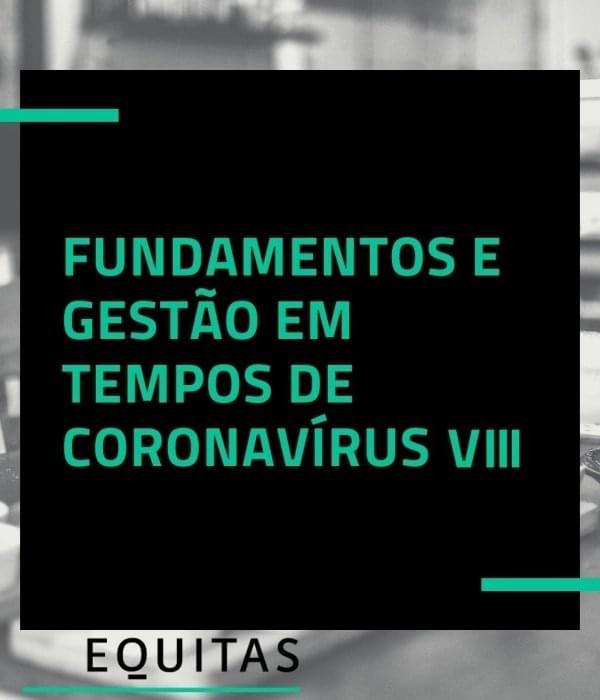 Fundamentos e gestão em tempos de coronavírus – vídeo VIII