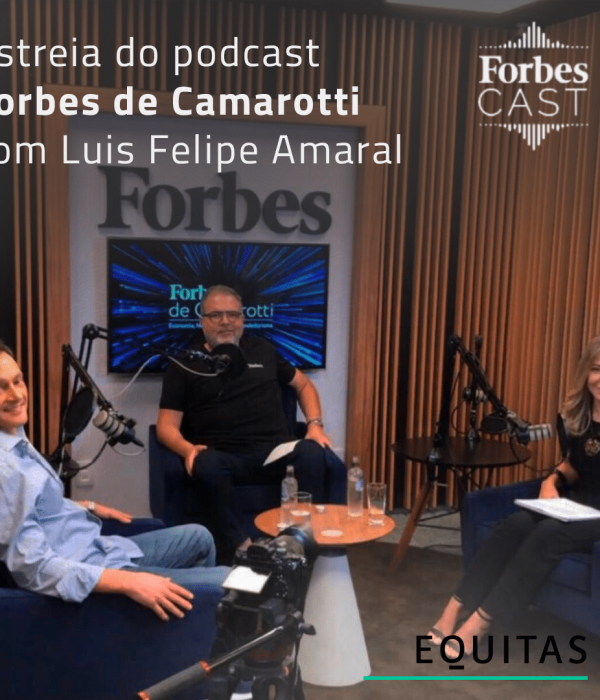 Estreia do podcast Forbes de Camarotti